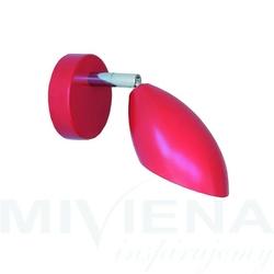 Diva kinkiet 1 czerwony