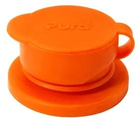 Ustnik sport do butelek, pomarańczowy, pura - pomarańczowy