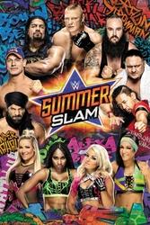 WWE Summerslam 2017 - plakat