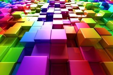 Fototapeta abstrakcja geometryczna 561a