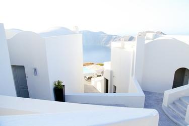 Fototapeta santorini białe budowle fp 2213