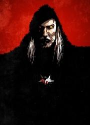 Wiedźmin - bloodlust geralt - plakat wymiar do wyboru: 21x29,7 cm