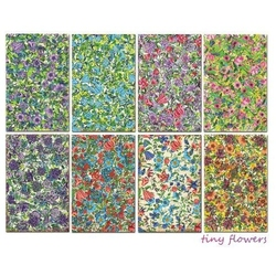 Zestaw papierów MINI 24 szt. - Tiny flowers - TIFL