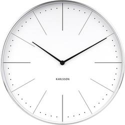 Zegar ścienny Normann 37,5 cm biały