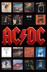 ACDC Album Covers - plakat