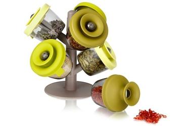 Pojemniki na przyprawy PopSome Herbs  Spices 6 szt.