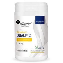 WITAMINA C Quali®-C 250 g proszek, kwas L-askorbinowy 1000 mg