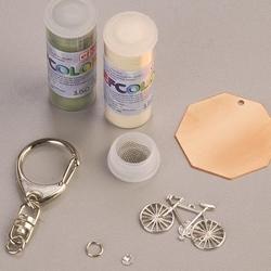 Zestaw do tworzenia biżuterii Efcolor-breloczek07