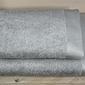 Bamboo style -szary ręcznik bambusowy andropol - szary