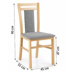 Krzesło kuchenne hubert 8 dąb miodowy