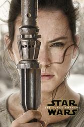 Gwiezdne Wojny VII Przebudzenie Mocy Rey Zwiastun - plakat