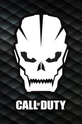 Call of duty skull - plakat dla gracza