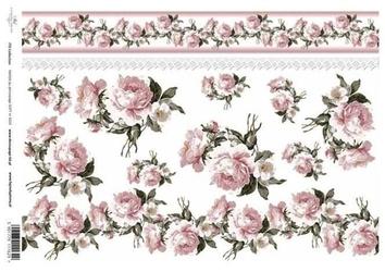 Papier soft itd a4 s024 róże - 024