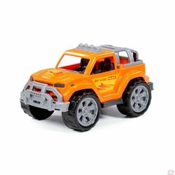 Samochód legionista pomarańczowy w siatce 7621