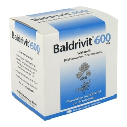 Baldrivit 600 mg tabletki powlekane