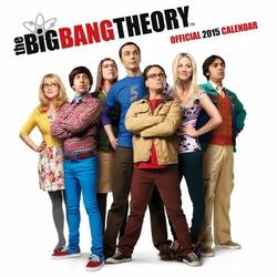 Big Bang Theory - oficjalny kalendarz 2015 r.