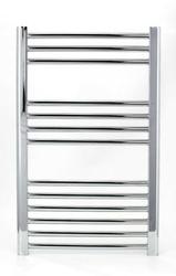 Grzejnik łazienkowy york - wykończenie proste, 400x800, chromowany