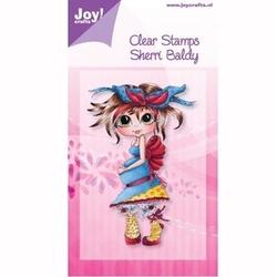 Ozdobny stempel akrylowy dziewczynka - 0903 - 0903