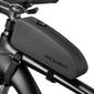 Etui wodoodporne torba sakwa na rower na ramę rockbros as-019-1 czarne