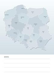 Suchościeralna mapa polski tablica 191