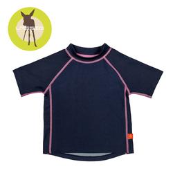 Koszulka T-shirt do pływania Navy, UV 50+