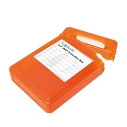 LogiLink Pudełko ochronne do HDD 3.5, pomarańczowe