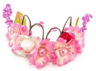 Ozdoba ślubna ratan róż