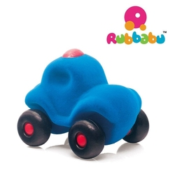 Rubbabu wóz policyjny sensoryczny niebieski