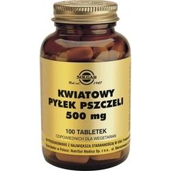 Solgar kwiatowy pyłek pszczeli 500mg x 100 tabletek