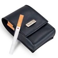 Damskie etui na papierosy felice fa14 standard granatowe - granatowy
