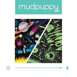 Puzzle rodzinne świecące w ciemności Kosmos 500 elementów, 8+, Mudpuppy