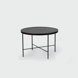 Nordifra :: stolik kawowy tre 600 czarny dąb rozm. m
