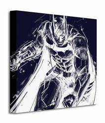 Batman Arkham Knight Stance - Obraz na płótnie