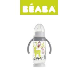 Butelka antykolkowa beaba 240ml - bunny grey
