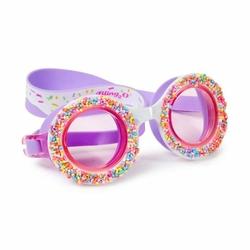 Okulary do pływania Posypka Cukrowa - fioletowe, Bling2O