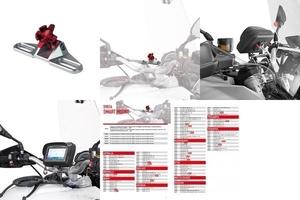 Givi s901a uniwersalne mocowanie na kierownicę do etui givi