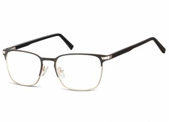 Okulary oprawki optyczne korekcyjne montana 917b czarno-złote