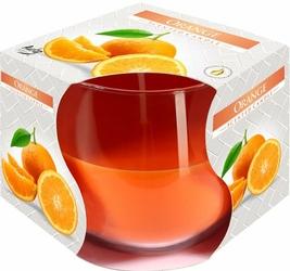 Bispol, świeca zapachowa w szkle, pomarańcza, 1 sztuka