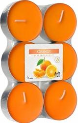 Bispol Maxi, Pomarańcza, podgrzewacze zapachowe, 6 sztuk