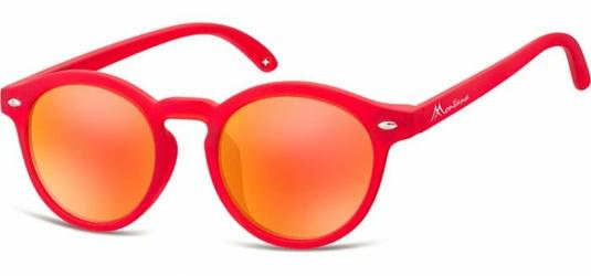 Okulary dziecięce okrągłe  lenonki lustrzane CS73A