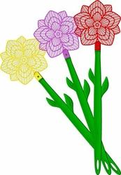 Bros, kwiatek packa na muchy, 1 sztuka