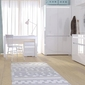 Biurko alaska z szufladami  biały połysk