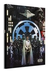 Gwiezdne wojny łotr 1 empire - obraz na płótnie