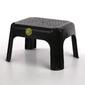 Taboret  podnóżek  stopień  stołek  podest prostokątny niski keeeper grafitowy