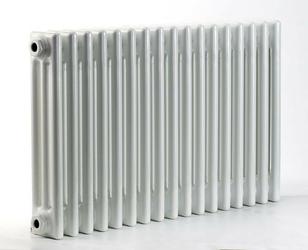Grzejnik pokojowy retro - 3 kolumnowy, 700x1000, białyral - biały
