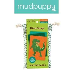 Mudpuppy gra karciana dino kłap w podróżnym opakowaniu