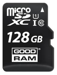 Karta pamięci microsd goodram uhs1 cl10 128gb + adapter 100mb - szybka dostawa lub możliwość odbioru w 39 miastach