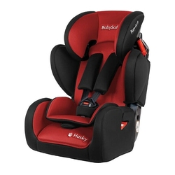 Babysafe husky sip czarno-czerwony new fotelik 9-36kg