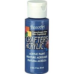 Farba akrylowa Crafters Acrylic 59 ml- niebieski Kopenhaga - NBH
