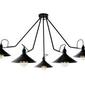 Kaspa :: lampa sufitowa hats 5 - czarna